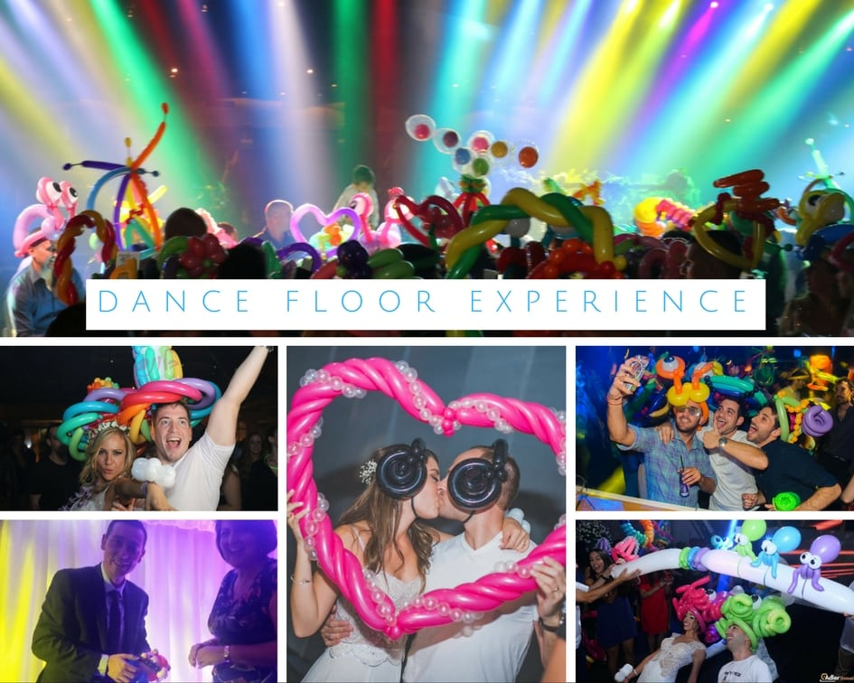 Collection of amazing images seen at events with the Dance Floor Experience