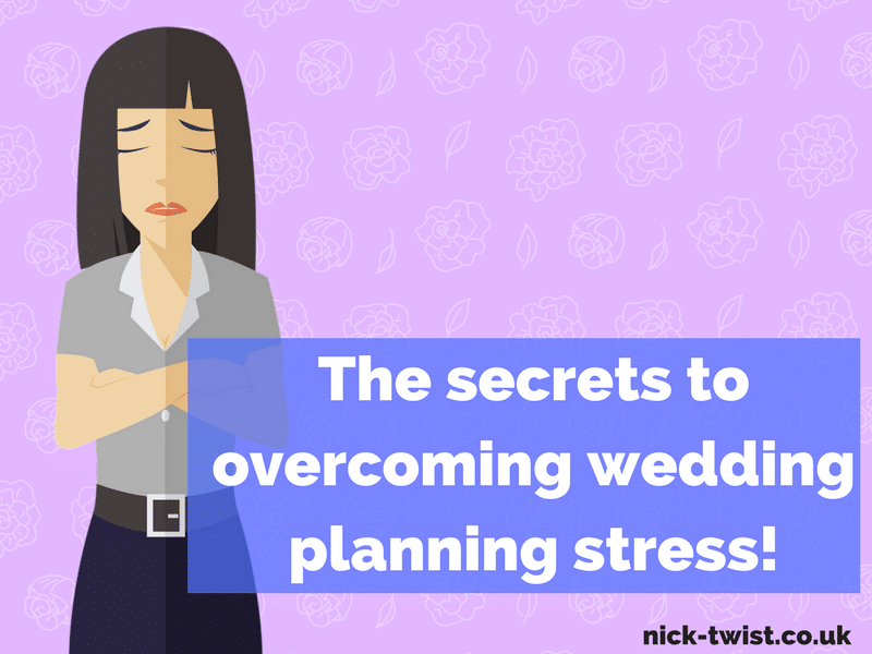 HOw to reduce wedding planning stress
