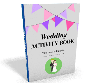 Picture of your free wedding activity book