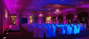 wedding uplighting idea
