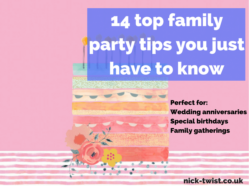 family party tips for success header