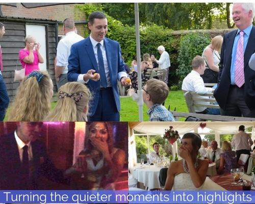 Norfolk Wedding magician Nick Twist enteraining at many weddings