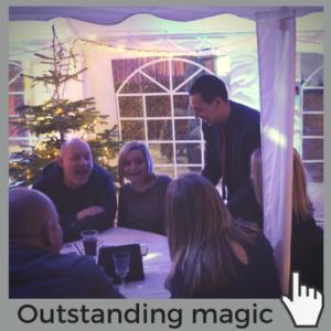Nick Twist table magician Norwich