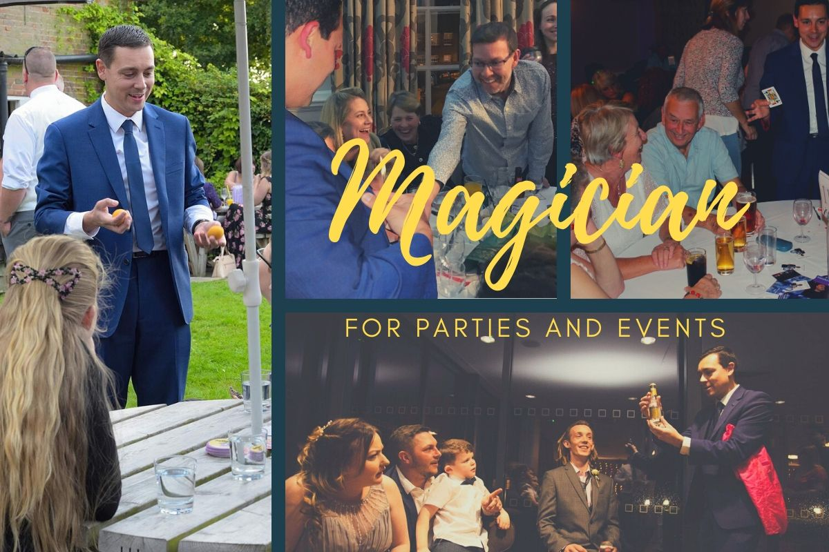 Magician at various parties and events
