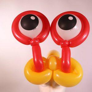 Goggle eyed hat