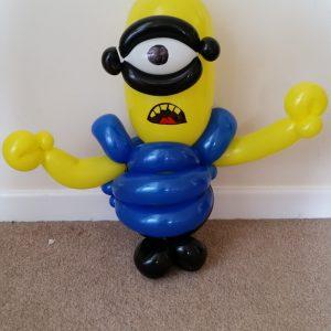 Large animated yellow man