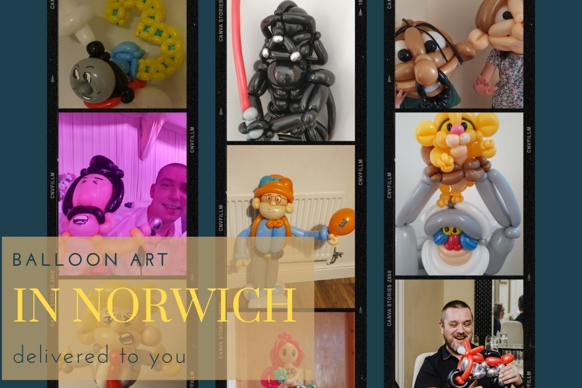 Gift idea norwich balloon adults and children
