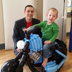 Ride-on motorbike