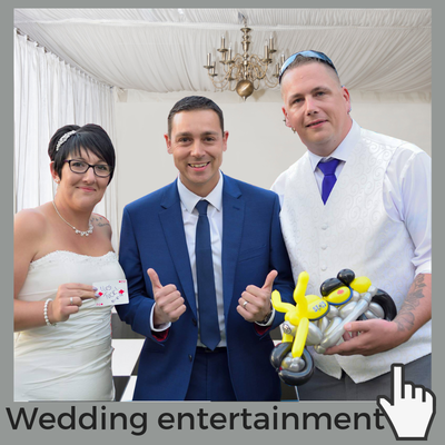 Wedding magician performing in Norfolk and suffolk