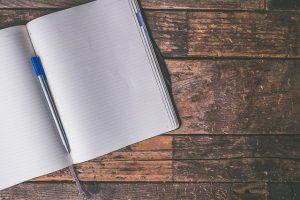 notebook for speech notes