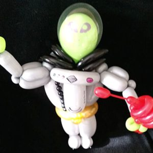 Small alien balloon