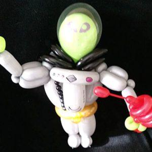 Small alien balloon