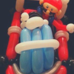 Mario balloon model