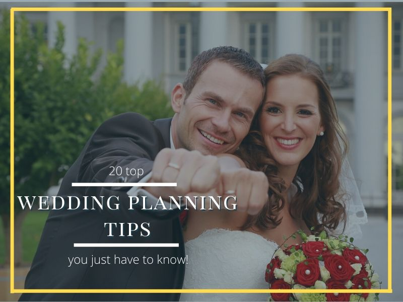 wedding planning tips header photo