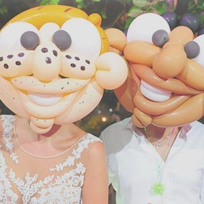 amazing party idea - balloon masks