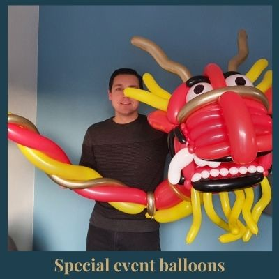 event balloon Chinese dragon