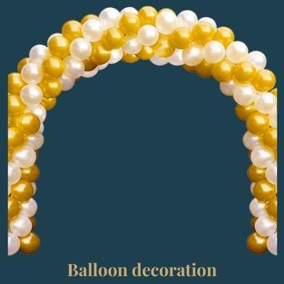 balloon decoration arch