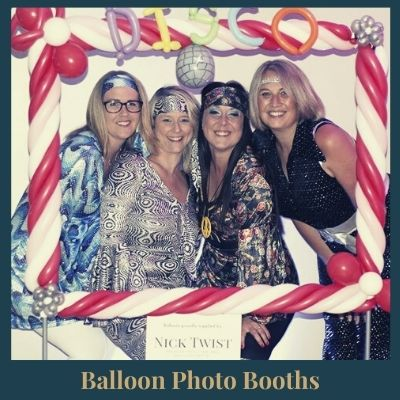 Balloon photo booth frame