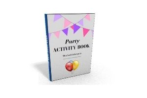 Children's party activity pack